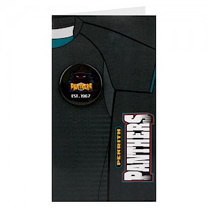 Penrith Panthers Badge Card