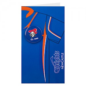 Newcastle Knights Badge Card