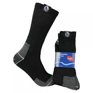 Collingwood Magpies 2PK Work Socks