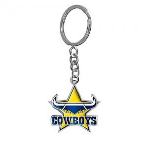 North Queensland Cowboys Enamel Logo Key Ring