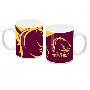 Brisbane Broncos Ceramic Mug