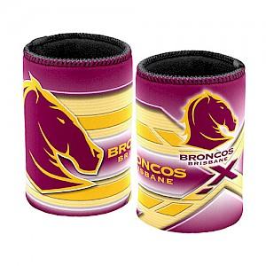 Brisbane Broncos Logo Can Cooler