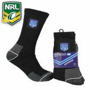 NSW Blues 2PK Work Socks
