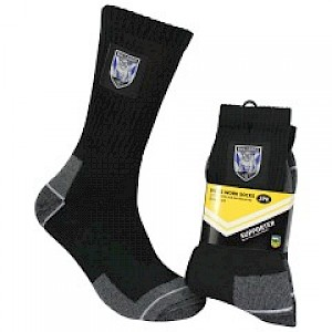 Canterbury Bankstown Bulldogs 2PK Work Socks
