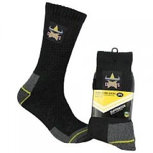 North Queensland Cowboys 2PK Work Socks