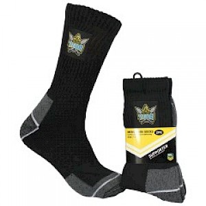 Gold Coast Titans 2PK Work Socks