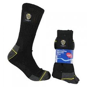 Richmond Tigers 2PK Work Socks