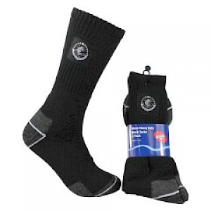 Carlton Blues 2PK Work Socks