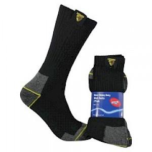Hawthorn Hawks 2PK Work Socks