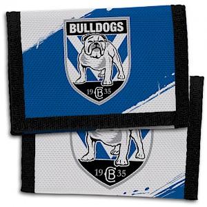 Canterbury Bankstown Bulldogs Velcro Wallet