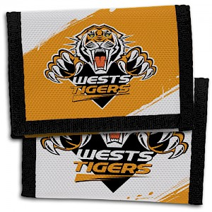 Wests Tigers Velcro Wallet