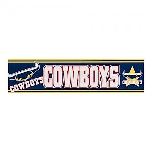 North Queensland Cowboys Bumper Sticker