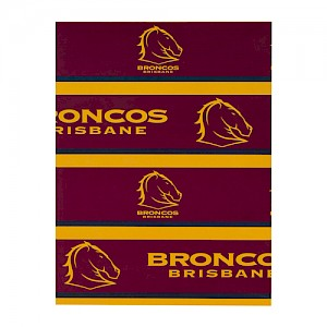 Brisbane Broncos Wrapping Paper