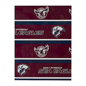 Manly Warringah Sea Eagles Wrapping Paper