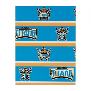 Gold Coast Titans Wrapping Paper