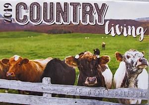2019 Country Living 16 Month Calendar #CAL19016