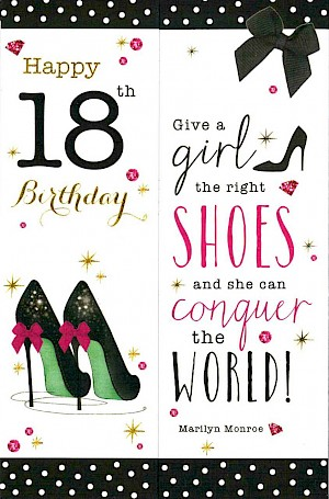18th Birthday Card #E087