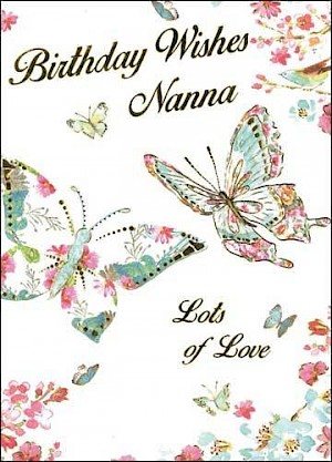 Nanna Birthday Card #E418