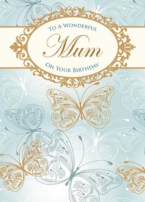 Mum Birthday Card #E405