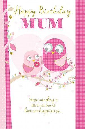 Mum Birthday Card #E407
