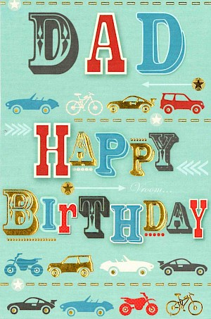 Dad Birthday Card #E306