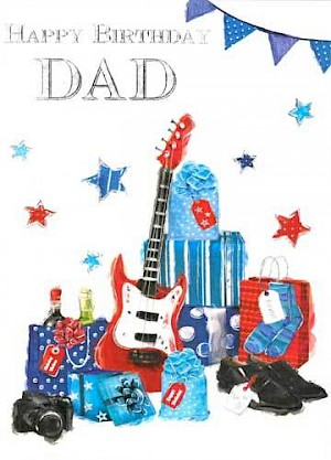 Dad Birthday Card #E305