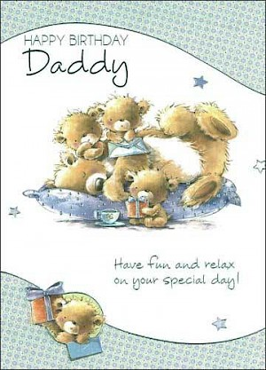 Daddy Birthday Card #E307