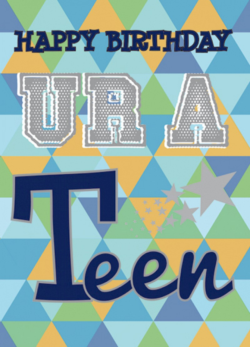 Teenage Boy Birthday Card E121