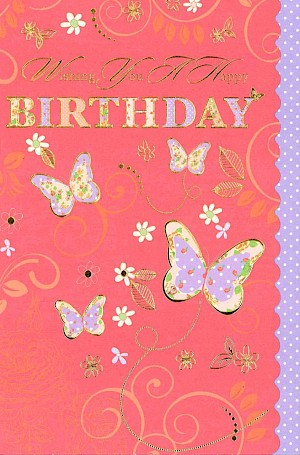 Female Birthday Card #E616
