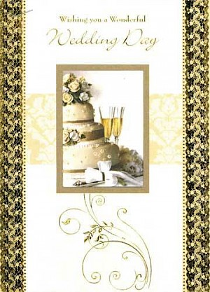 Wedding Day Card #E715