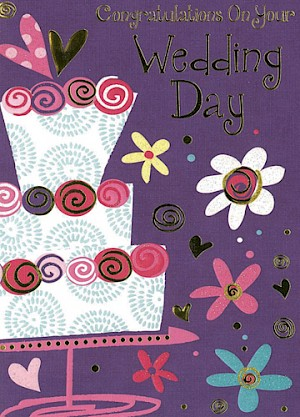 Wedding Day Card #E712