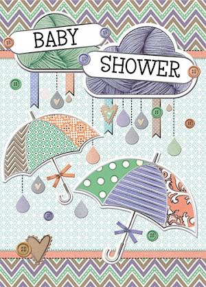 Baby Shower Card #E819-1