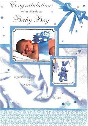 Baby Boy Card #E803