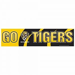 Richmond Tigers Go Banner