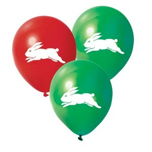 South Sydney Rabbitohs Latex Balloon