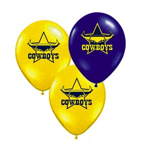North Queensland Cowboys Latex Balloon