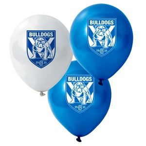 Canterbury Bankstown Bulldogs Latex Balloon