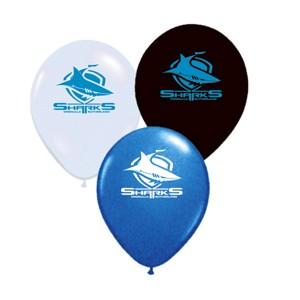 Cronulla Sharks Latex Balloon