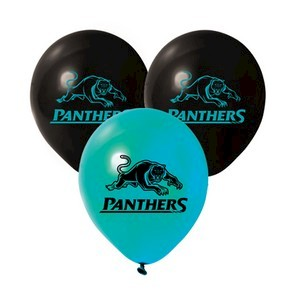 Penrith Panthers Latex Balloon