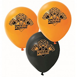 Wests Tigers Latex Balloon
