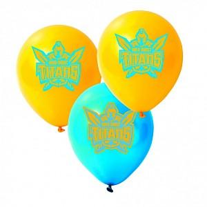 Gold Coast Titans Latex Balloon