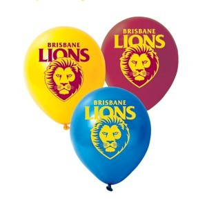 Brisbane Lions Latex Balloon