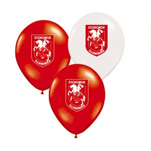 St George Illawarra Dragons Latex Balloon