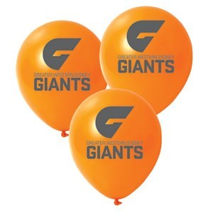 GWS Giants Latex Balloon