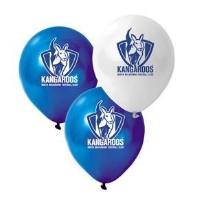 North Melbourne Kangaroos Latex Balloon