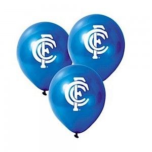 Carlton Blues Latex Balloon