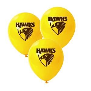 Hawthorn Hawks Latex Balloon