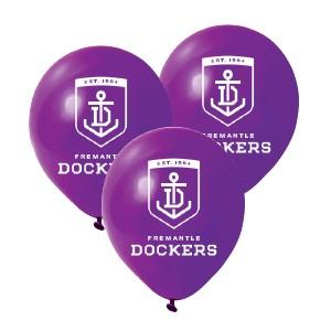 Fremantle Dockers Latex Balloon