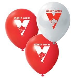 Sydney Swans Latex Balloon