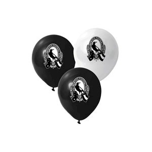 Collingwood Magpies Latex Balloon